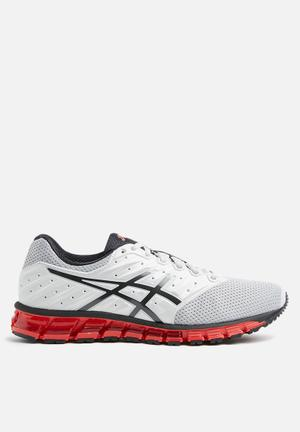 Asics Gel-Quantum 180 2 MX Trainers Glacier Grey / Phantom / Fiery Red
