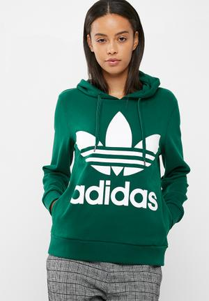 Adidas Originals Classic Hoodie Hoodies, Sweats & Jackets Green