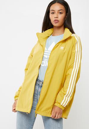 Adidas Originals Stadium Jacket Yellow