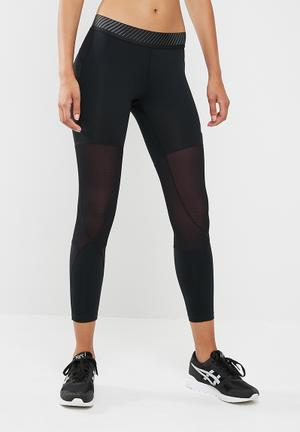 Asics Baselayer Tights Bottoms Black