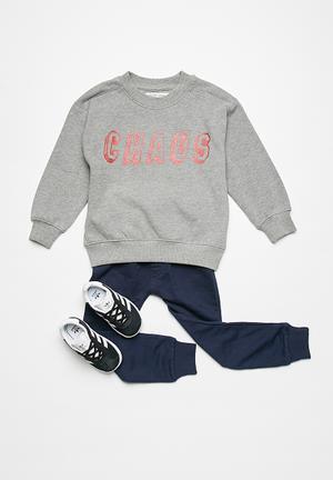 MINOTI Sweatshirt Tops Grey