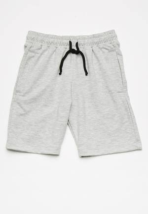 Basicthread Kids Jogger Shorts Grey