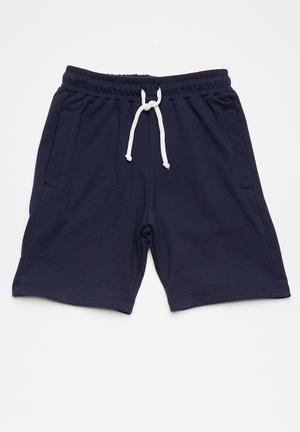 Basicthread Kids Jogger Shorts Navy