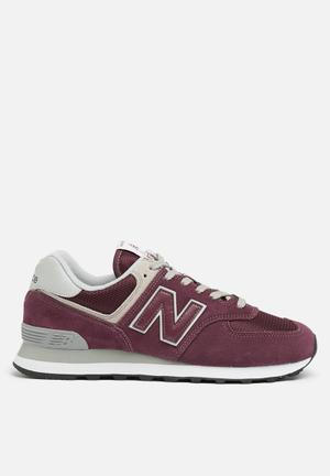New Balance  WL574ER Sneakers Burgundy