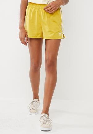 Adidas Originals 3 Stripes Shorts Bottoms Yellow