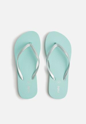 Cotton On Rubi Thong Sandals & Flip Flops Mint