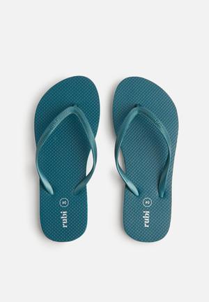 Cotton On Rubi Thong Sandals & Flip Flops Jungle Green
