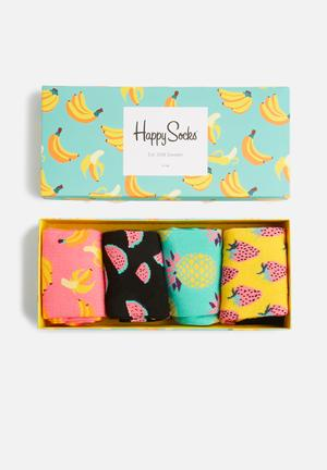 Happy Socks Fruit Gift Box Socks 86% Cotton 12% Polyamide 2% Elastane