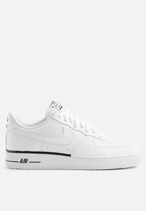 Nike Air Force 1 '07 Premium Sneakers  White/White - Black