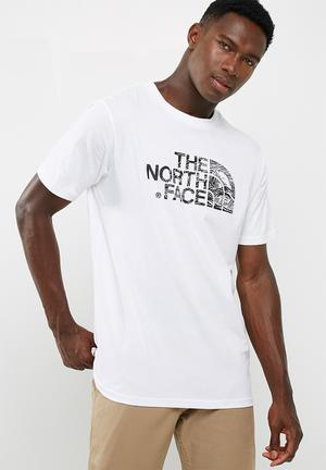 The North Face Woodcut Dome T-Shirts White