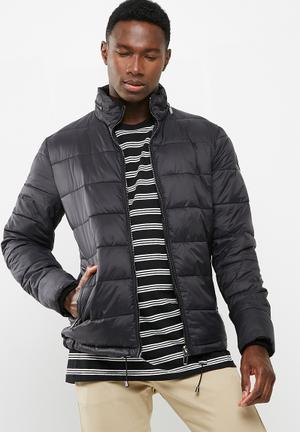 Only & Sons Padded Puffer Jacket Black