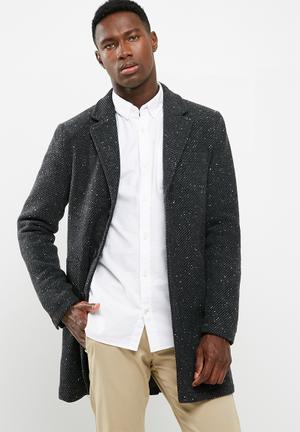 Only & Sons Faro Wool Coat Grey