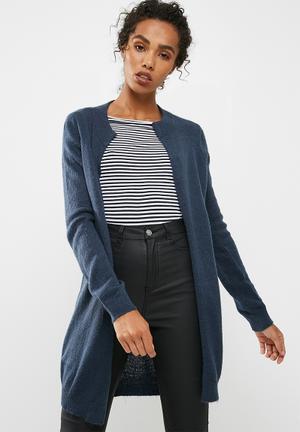 Jacqueline De Yong Daylight Cardigan Knitwear Navy