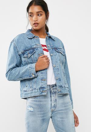 Levi's® Ex Boyfriend Trucker Jacket Blue