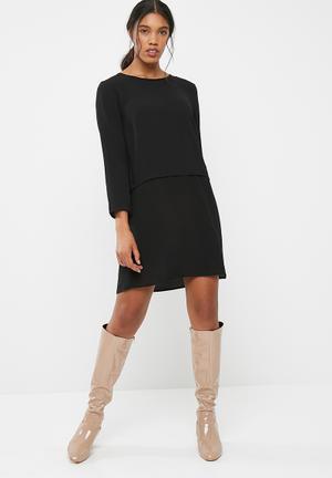 Jacqueline De Yong Run Dress Formal Black
