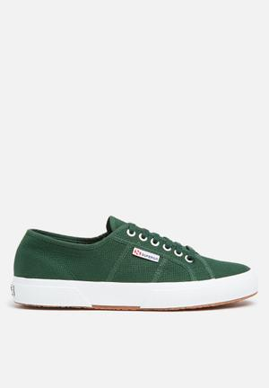 SUPERGA 2750 Cotu Classic Canvas Sneakers Dark Green