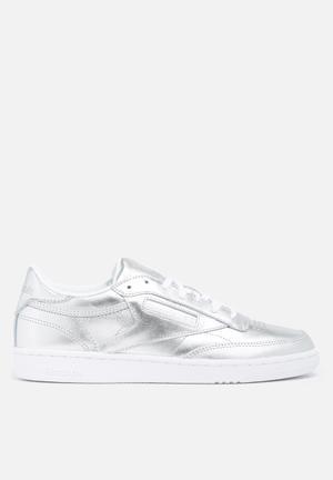 Reebok Club C 85 S Shine Sneakers Silver / White