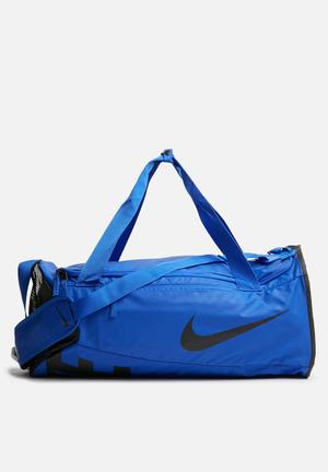 Nike Men's Nike Alpha Training Duffel Bag Blue & Black