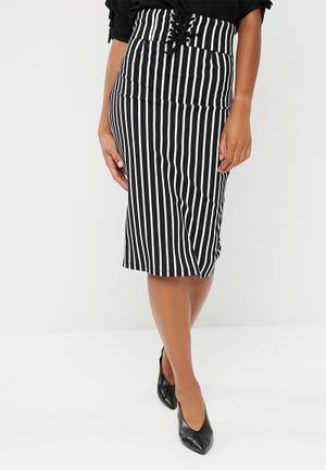 Dailyfriday Corset Bodycon Skirt 95% Viscose 5% Spandex