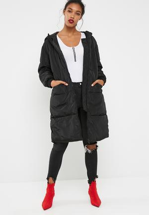 Jacqueline De Yong Rocca Coat Black