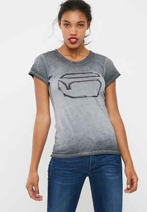 G-Star RAW Thilea Slim Tee T-Shirts, Vests & Camis 100% Cotton