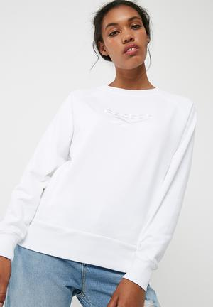 Reebok Cotton Sweat White