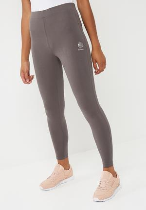 Reebok CB Leggings Bottoms Grey