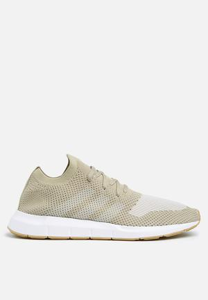 Adidas Originals Swift Run PK Trainers Raw Gold S18/ Off White/ FTWR  White