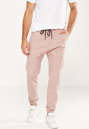 Cotton On Drake Cuffed Pant Pale Pink