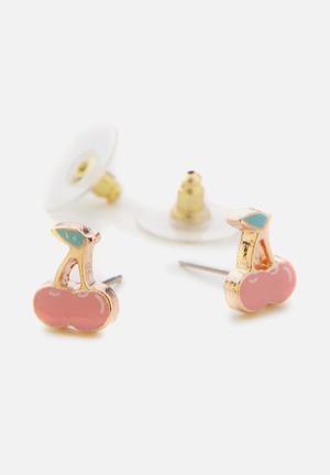Typo Novelty Earrings Jewellery Metal