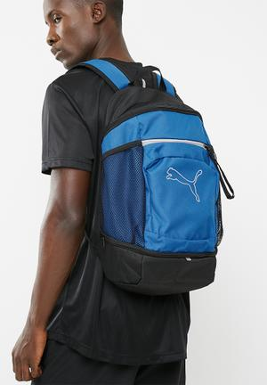 PUMA Echo Backpack Bags & Wallets Blue & Black