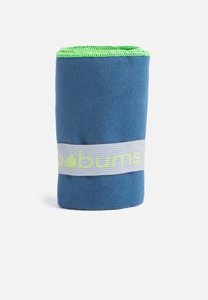 Bobums Single Gym Towel Sport Accessories Blue & Green