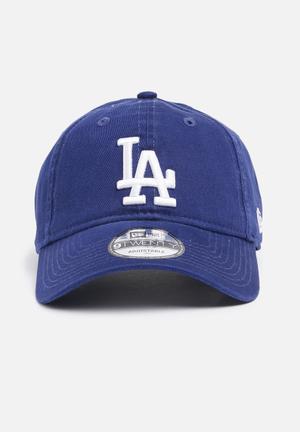 New Era 9Twenty Team Unstructured Wash Headwear Blue