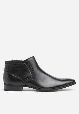 Gino Paoli Gino Zip Boot Black
