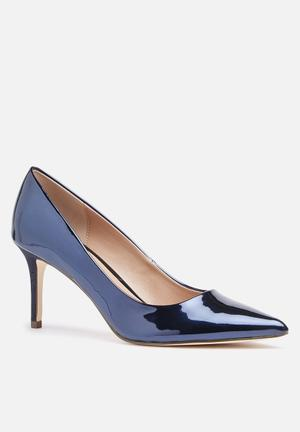 Call It Spring Fririen Heels Navy