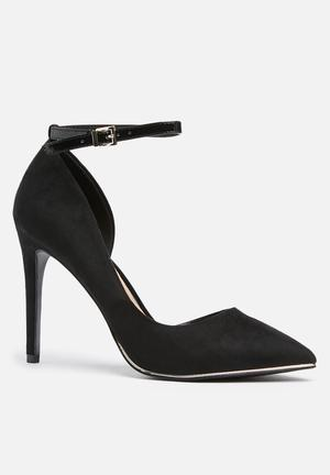 Call It Spring Exerina Heels Black