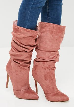 Footwork Laya Boots Pink