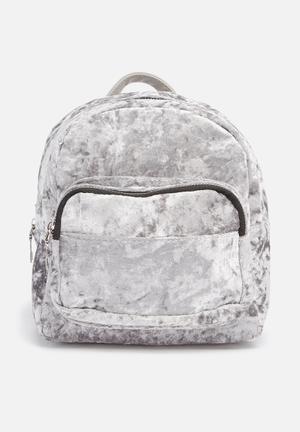 Velour backpack