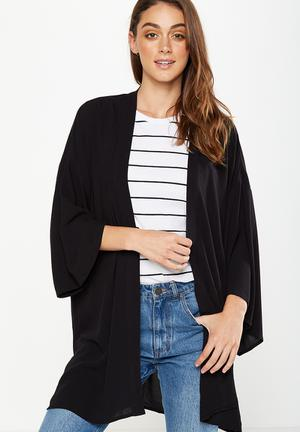 Cotton On Holly Kimono Jackets Black