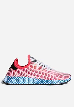 Adidas Originals Deerupt Runner Sneakers Solar Red