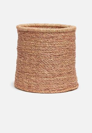 Grey Gardens All Natural Basket Accessories 100% Natural Grass Fibre