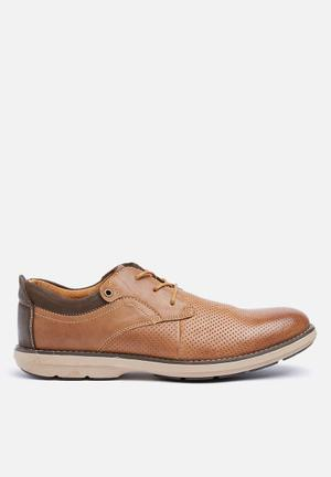 Watson Shoes Raheen Leather Formal Shoes Tan