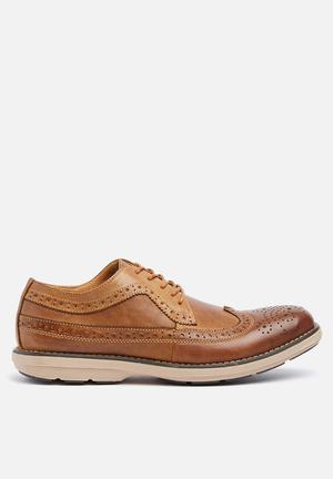 Watson Shoes Ruan Leather Formal Shoes Tan