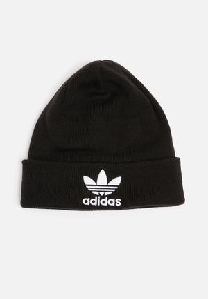 Adidas Originals Trefoil Beanie Headwear 100% Acrylic