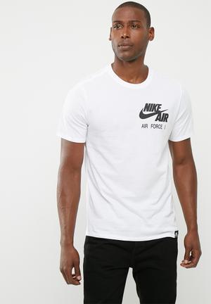 Nike Nsw Af1 Tee T-Shirts 100% Cotton