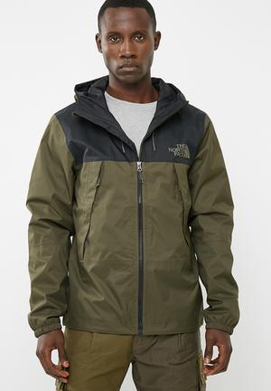 fbe672dea M 1990 Mountain Q Jacket- Tnf Black / New Taupe Green The North Face ...