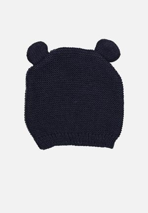 Cotton On Baby Knit Beanie Accessories Navy