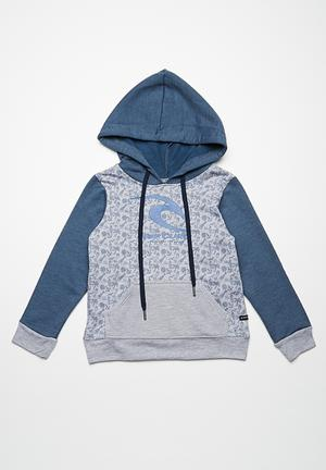Rip Curl Boards & Banjos Pullover Jackets & Knitwear Grey / Navy