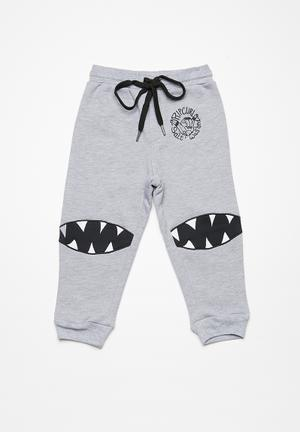 Rip Curl Shark Bike Jogger Pants & Jeans Grey