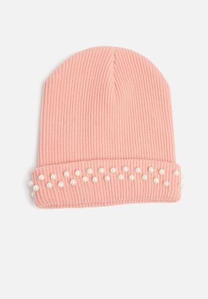 Dailyfriday Kaya Beanie Headwear Pink